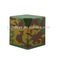 2014 Small mini bluetooth speaker with cube shape