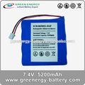 18650 paquete de batería de icr18650h2- 2s2p 7.4v bateria para bicicleta eléctrica