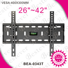Fits for 22 26 32 42 50 55 60 64 70 fixed flat panel tv wall mount bracket made in China