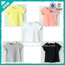 Cheap wholesale 100% cotton kids t-shirt (lyt020008)