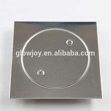 (FD-002)screw fixation 304 stainless steel floor shower drain,bath drain cover,floor drain grate