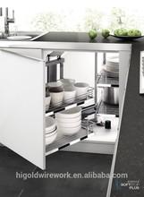 commercial kitchen cabinet wooden basket kitchen magic corner