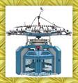 casa para hacer punto automatizada de tres máquinas de paño grueso y suave hilo single jersey máquina para hacer punto