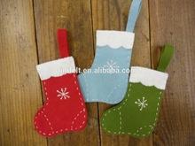 Popular felt stocking for Christmas gift