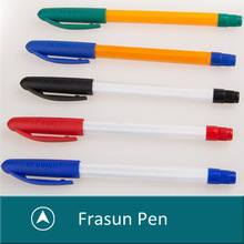 Simple Bic Pen,Colorful Lid Non-toxic Bic Pen