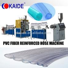 Soft PVC Fiber Reinforced Garden Hose Machine 10-50mm