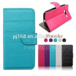 for LG G Vista case, leather folio cover case for LG G Vista VS880