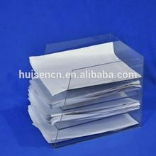 Clear Multilayer Brochure Shelf for Office