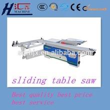 used precision sliding table saw machine
