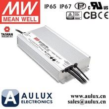 Mean Well 600W LED Driver HLG-600H-12B 40A 600W 12V LED Power Supply