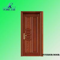 living room kitchen partition/wood plastic composite door