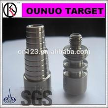 paypal acceptable gr2 universal domeless titanium nail smoke 29mm