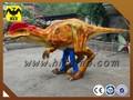 Hlt Dino - peso ligero hechos a mano dinosaurio traje de la navidad de espectáculo