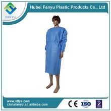 polyethylen clothing disposale hospital nurse gown