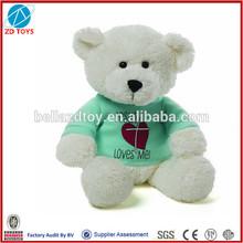 promotional stuffed teddy bear stuffed toy teddy bear with t-shirt
