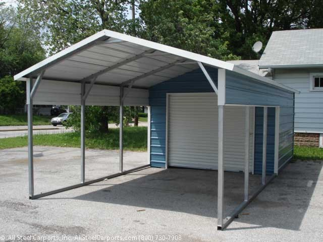 Metal carport with storage room metal carport with Carport with storage room