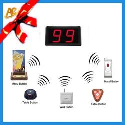 AC nurses wireless panic button for emergency hospitality nursing calling system