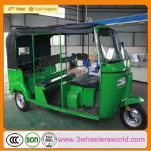 Indian style 200cc 6-passenger bajaj three wheel auto rickshaw /Bajaj tuk tuk/Bajaj passenger three wheel motorcycle