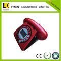 Decoração da do vintage retro RED telefones antigos
