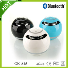 GK-A15 2014 Best hot selling stereo rechargable bluetooth speaker mini speakers box loudspeaker