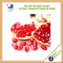 Natural herbal extract of Pomegranate Extract Total phenols 40% above HPLC