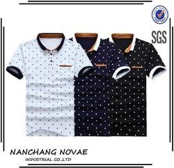 New Custom Mens Summer Polo Shirt Hot Sale Polka Dots Cotton Short Sleeve Polo shirt Men Designer Brand Clothing shirts