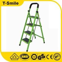 Green 4 Step Ladder Folding Ladder Hosehold step ladder