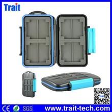 New ! CF Compact Flash SD Card Box MC-2 ABS Plastic Waterproof Tough Memory Card Case
