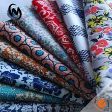 Different pattern print cotton poplin fabric