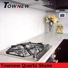 Artificial newest quartz stone 93 percentage quartz crystal kitchen top TNK-3100