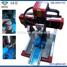 3030 mini acryl cnc 3d router/mini lathe machine QD-3030