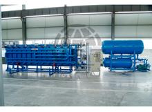 plastic EPS automatic vacuum block molding machine