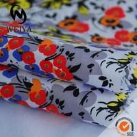 Cotton strecth printed poplin fabric