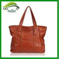 Fashion trend genuine leather handbags shoulder bags for ladies