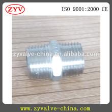 ASTM A351 304 stainless steel fittings hex reducing nipples