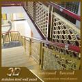 Aço inoxidável 316L lixado trilhos da escada