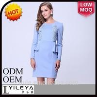 2014 Fashional designed ladies sexy mini dress club wear