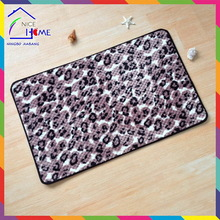 Leopard high quality new arrival car floor mat with logo