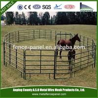 Metal Corral horse fencing panels