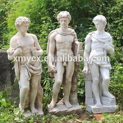 Garden ornaments outdoor decors roman statue