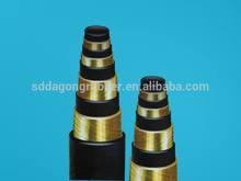 high pressure water hose/hydraulic rubber hose/ hydraulic hoses high pressure