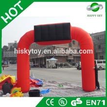 Unique design inflatable arch,halloween inflatable arch,inflatable starting line arch