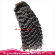 European virgin hair deep wave 24inch long hair length natural 1b freestyle part human hair wig full lace wig