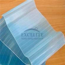 buon materiale di copertura del tetto in policarbonato ondulate per coperture in plastica