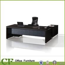 CF fireproof modern office design desk office Laminated front modesty Panel