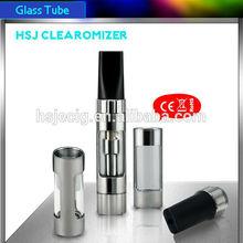 HSJ 1473 Electronic Cigarette Clearomizer bdc clearomizer 26650 dry herb vaporizer exgo w3