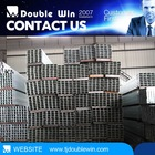 Lowest price Squre Hollow Section/steel square pipe/Tube hollow bar