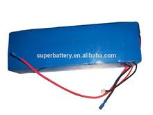 (SR-Li13000S) Customized ICR 18650 13ah rechargeable 48v li-ion shrink tube 48 volt lithium battery pack