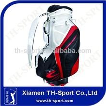 PU golf staff bag best quality adjustable strap