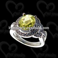 2015 Fashion Jewelry Fashion Antique Silver Ring Set
